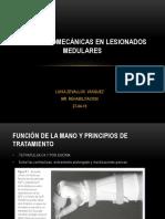 Ayudas Biomecanicas en Lesionados Medulares