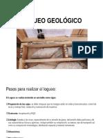 logueo geologico