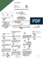 Examen Tercer Grado IV Bimestre Matematicas-2008-2009
