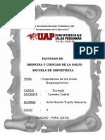 Importancia de Los Ciclos Biogeoquimicos((Ecologia))