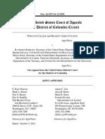 Joint Appendix, Wheaton College v. Sebelius