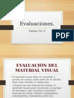 Evaluación Del Material Audiovisual