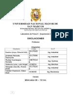 Informe de laboratorio de física II (OSCILACIONES )