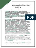 Sistema nacional de inversión publica.docx