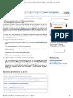Coherencia y Cohesión en El Discurso Académico Ejercicio de Inglés - Cursos de Inglés y Repaso de Dudas