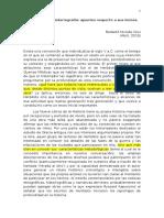 Conclusiones Historia de la Historiografía 1° parte
