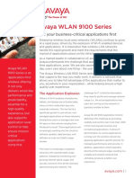 Avaya WLAN 9100 Series