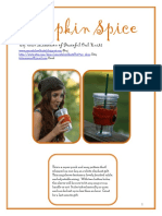 Pumpkin Spice - knitting pattern