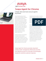 A Vaya Agent for Chrome