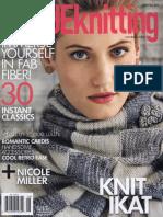 Vogue Knitting Magazine Early Fall 2014