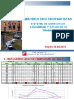 Reunión Con Contratistas 06-04-2016