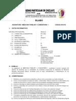 Ciclo1_medicina Familiar y Comunidad i