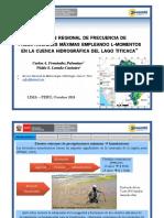 ANÁLISIS REGIONAL DE FRECUENCIA DE PRECIPITACIONES MÁXIMAS EMPLEANDO L-MOMENTOS EN LA CUENCA HIDROGRÁFICA DEL LAGO TITICACA
