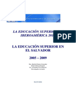 Educacion Superior ES 2009