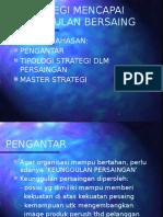 6. Strategi Mencapai Keunggulan Berasing Dalam Bisnis