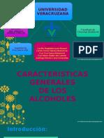 CARACTERISTICAS DE LOS ALCOHOLES