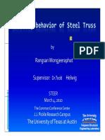Buckling Behaviour of Steel Truss-wongjeeraphat
