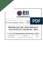 Plan SST Electro Ingeneria