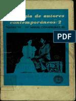 Antología de autores contemporáneos 2 (teatro)