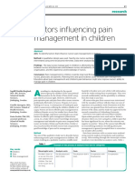 Bahan Tesis 7 Factor Influencing Pain Management