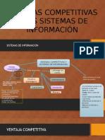 Ventajas Competitivas y Los Sistemas de Información