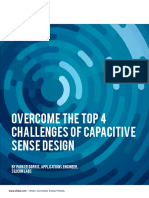 Overcome the Top 4 Challenges of Capacitive Sense Design