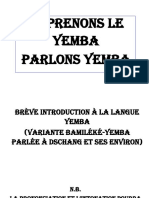 Brève Introduction à La Langue Yemba