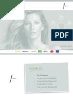 Corporate Presentation Falabella 2015