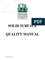 Solid Surface Manual