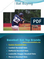 Baseball Bat Reviews and Buying Guide
