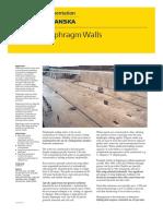 Diaphragm Walls