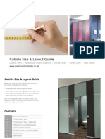 Cubicle Size Guide