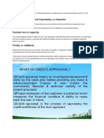 3 c's of credit