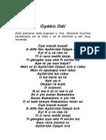 020 Oyeku Odi