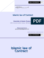 03 Lecture Islamic Law of Contract