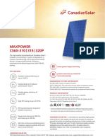 Canadian Solar Datasheet CS6XP Maxpower v5.4C1en