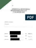 2015 Q1 Environmental (Redacted)