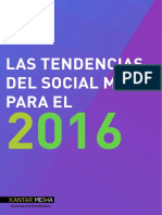 Las Tendencias Del Social Media Para El 2016