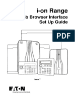 Web Browser User Guide i-on 40