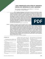 Padronização Protocolo TC Para Aneurisma de Aorta