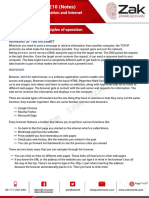 1.2.3 Internet Principles of Operation