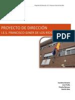 Proyecto de Centro Ies Francisco Giner Final