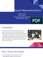 student board representative