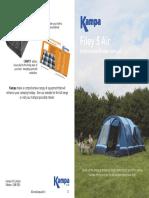 Kampa Filey 5 Air Tent