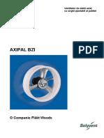 Anexa X - Prezentare Ventilatoare Tip AXIPAL BZI