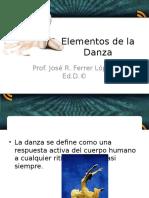 Elementos Del a Danza
