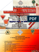 ITC 2010 Bartender Competition Rule & Regulations