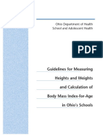 BMI Guidelines