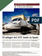 El Mundo Mercados 18 Abr 2010 Especial Alta Velocidad