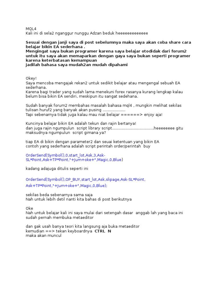 Tbst forex pdf